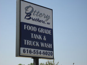 Ottery Brothers Food Grade Tank & Truck Wash