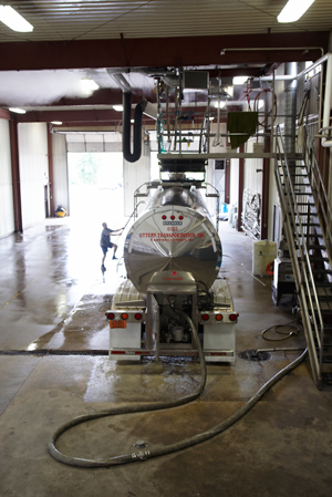 Ottery Brothers Wisconsin Food Grade Tank & Truck Wash Bay